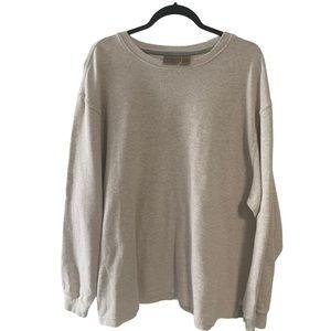 LLBean 100% Cotton Exclusive of Trim Sweater XXL